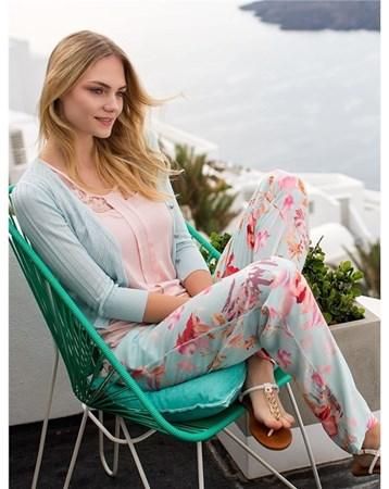 1319 Hırkalı 3'Lü Pijama Takım Stl_Miss_Loren_1319