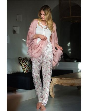 1316 Hırkalı 3'Lü Pijama Takım Stl_Miss_Loren_1316