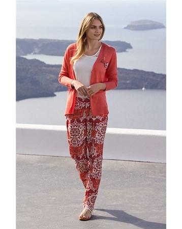 1321 Hırkalı 3'Lü Pijama Takım Stl_Miss_Loren_1321