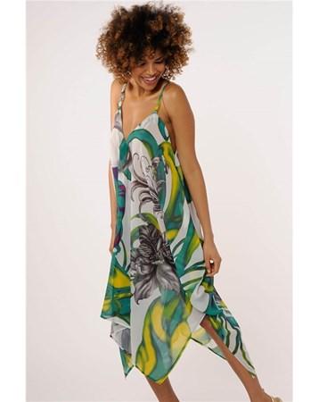 65123 Reflectıons 2016 Yaz Askılı Elbise Reflections