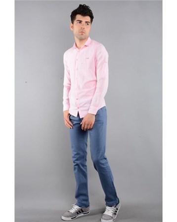 Rodinhills Mavı Erkek Gabardin Pantolon Likralı 5 Cep 6061