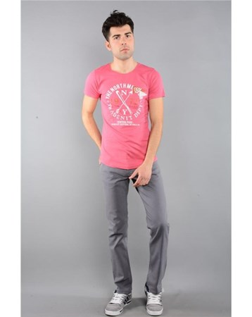 Rodinhills Grı Erkek Gabardin Pantolon Likralı 5 Cep 6061