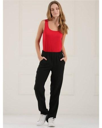 Siyah Pijama Pantolon 34341