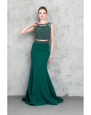 Yeşil Abiye Elbise MY2EGO201700 MY2EGO