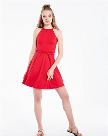 Kırmızı Elbise 29192 MY2EGO