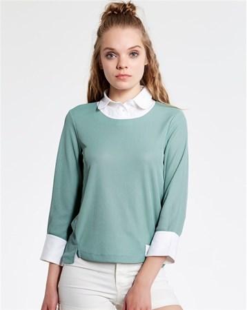 Yeşil Bluz 29314 MY2EGO