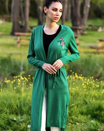 Yeşil Triko Hırka 30116 MY2EGO