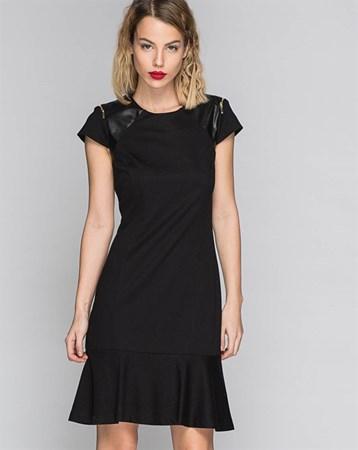 Siyah Elbise 78001