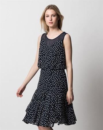 Lacivert Elbise 78016