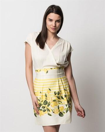 Limon Elbise 78027