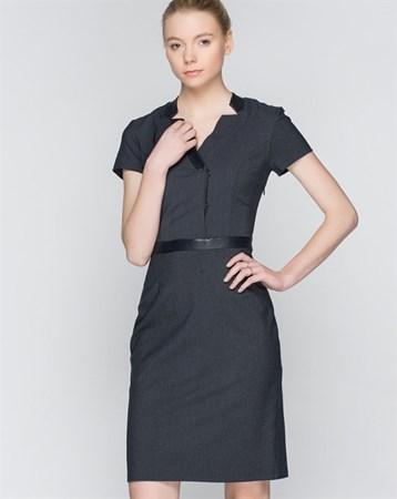 Lacivert Elbise 78037