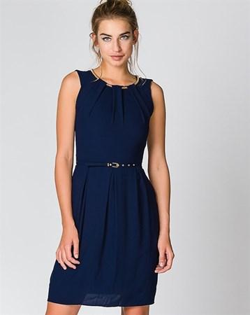 Lacivert Elbise 78103