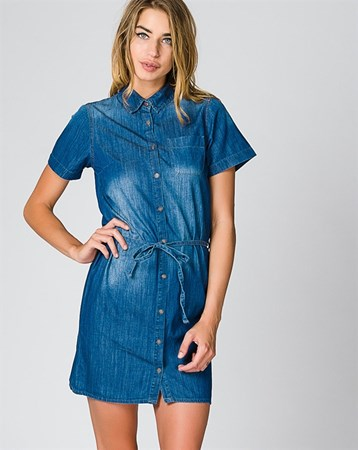 İndigo Elbise 78109