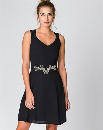 Siyah Elbise 78120