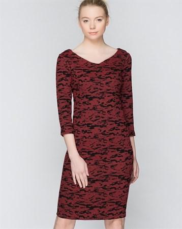 Kırmızı Elbise 78149