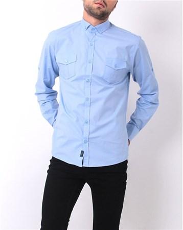 15Yae2041051 Gömlek Mavi Rodrigo