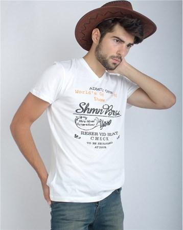 16Yae3053307 T-Shırt Beyaz Rodrigo