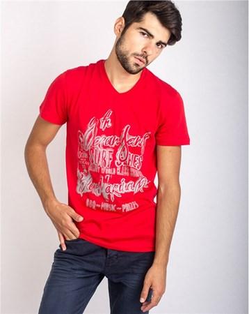 16Yae3053314 T-Shırt Kırmızı / Red Rodrigo