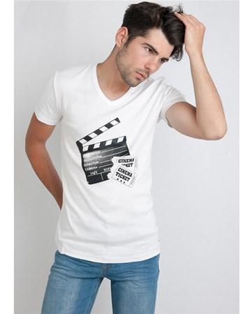 16Yae3053401 T-Shırt Beyaz Rodrigo