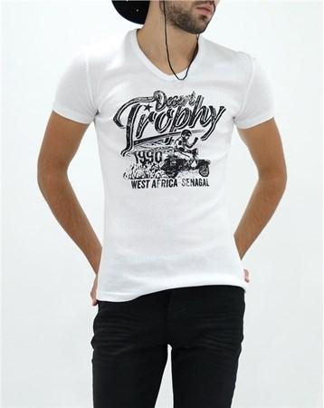 16Yae3053409 T-Shırt Beyaz Rodrigo