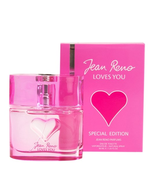 Jean Reno Loves You 40Ml Edt Bayan Parfüm Yüzük Hediyeli