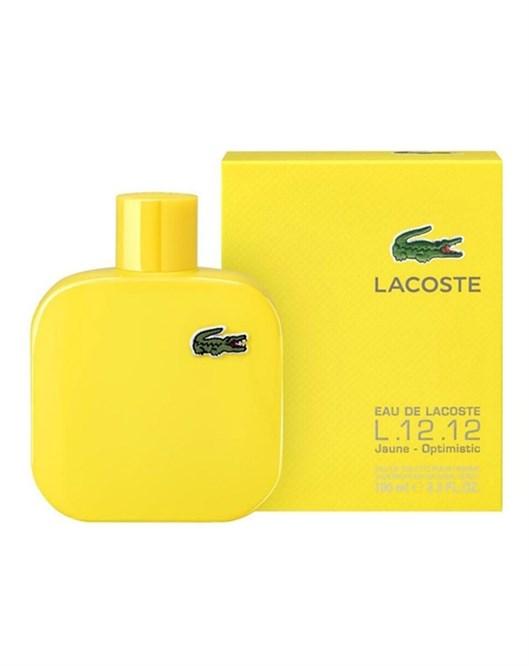 Lacoste Eau De Lacoste L.12.12 Jaune Man 100Ml Erkek Parfüm