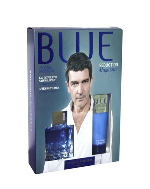 Antonio Banderas Blue Man 100Ml Edt Erkek Parfüm Set