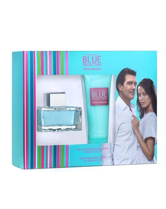 Antonio Banderas Blue Seduction 100Ml Edt Bayan Parfüm Set