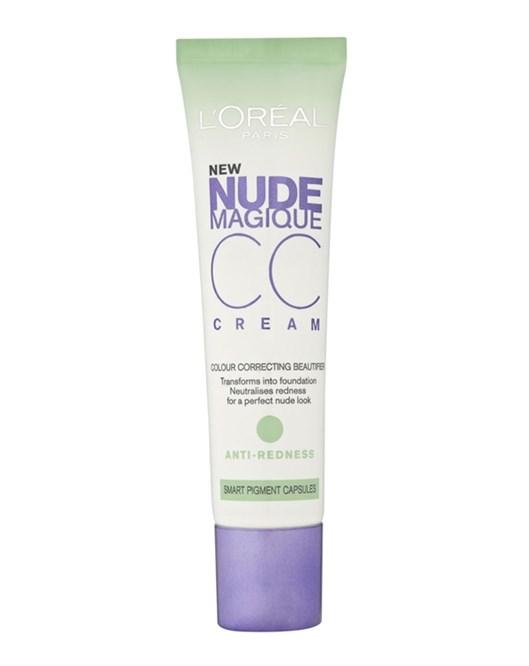 Loreal Nude Magique Cc Cream Kırmızı Karşıtı Krem