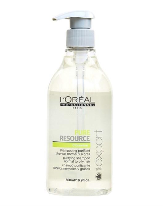 Loreal Serie Expert Pure Resource 500Ml Şampuan