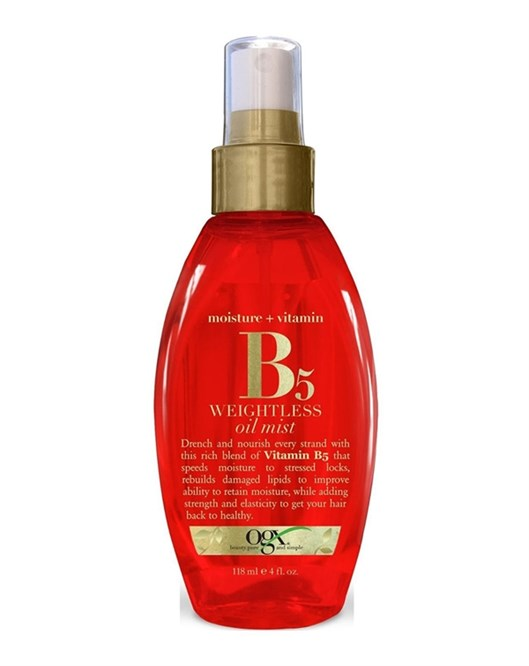 Organix Yağ Spray Vit B5