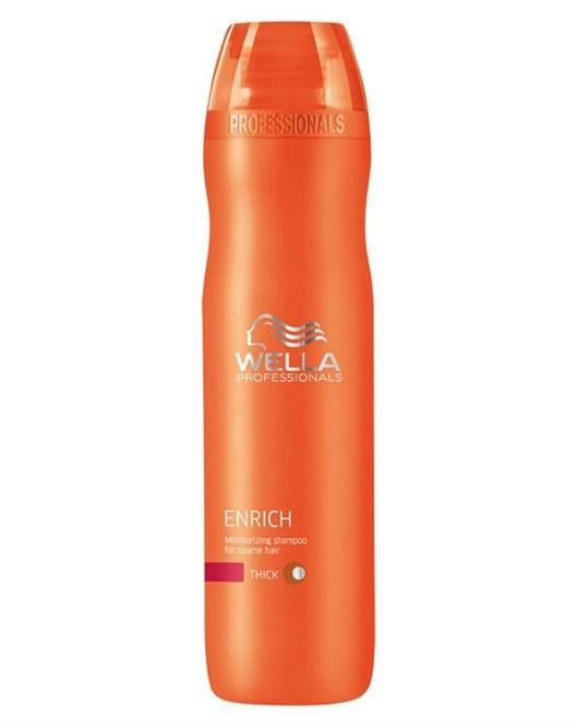 Wella 250 ml Enrich Kalın Telli Saçlar için Nemlendirici Şampuan