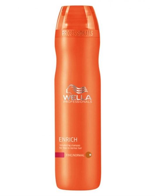 Wella 250 ml Enrich İnce Telli Saçlar için Hacim Veren Şampuan