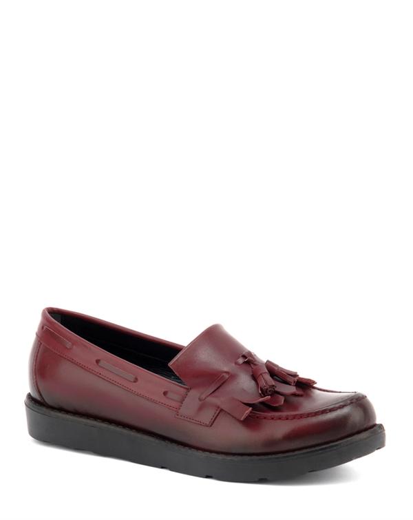 Beta Deri Oxford Bordo Bayan Ayakkabı 82-2579-008