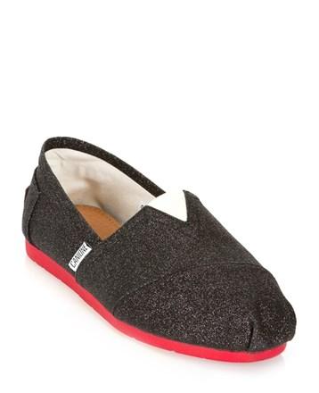 Siyah Espadril Ayakkabı