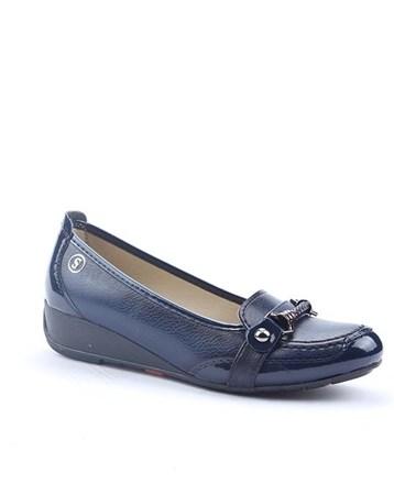 Şng Y-754-N Günlük Ortopedik Dolgu Topuk Bayan Ayakkabı 4291