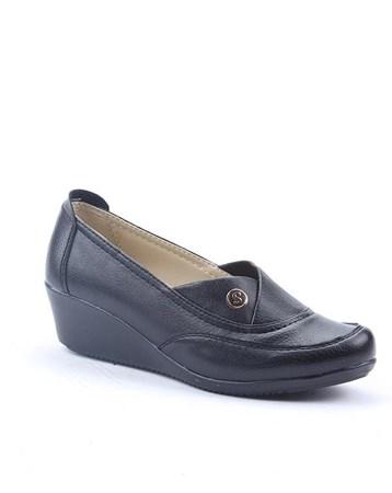 Şng Y-600 Günlük Ortopedik Dolgu Topuk Bayan Ayakkabı 4294