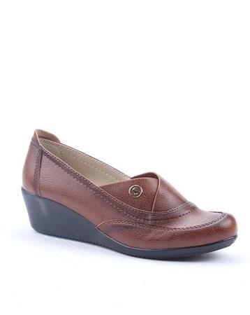 Şng Y-600 Günlük Ortopedik Dolgu Topuk Bayan Ayakkabı 4295