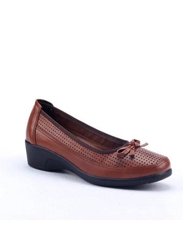 Footstep 018 Günlük %100 Deri 4Cm Ortopedik Pedli Anne Ayakkabı 4672