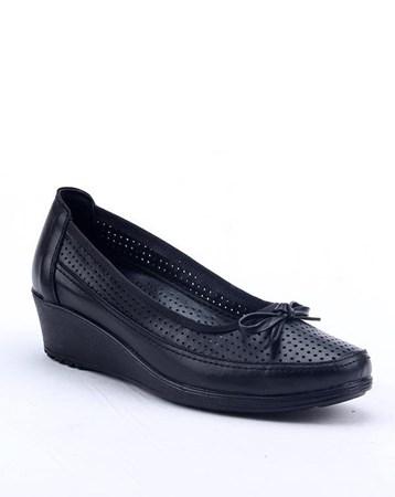 Footstep 018 Günlük %100 Deri 4Cm Ortopedik Pedli Anne Ayakkabı 4673