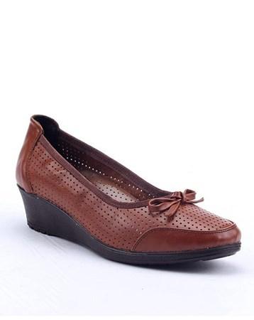 Footstep 021 Günlük %100 Deri 4Cm Ortopedik Pedli Anne Ayakkabı 4674
