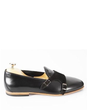 Deri Üstü Süet Tokalı Erkek Ayakkabı 3 Veyis Usta