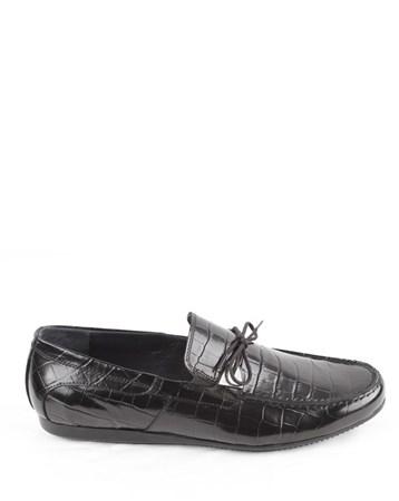 İp Aksesuarlı Rugan Erkek Ayakkabı 47 Veyis Usta
