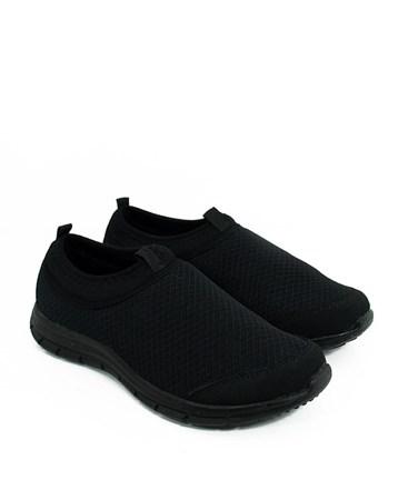 Kadın Rahat Günlük Spor Ayakkabı-Siyah-1024-496-670-01 Kappa
