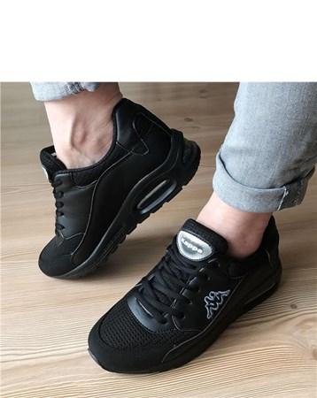 Kadın Günlük Spor Ayakkabı-Siyah-643-018-838-01 675 Kappa