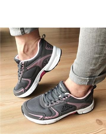 Kadın Günlük Spor Ayakkabı-Gri-090-1190-1093-01 677 Kappa