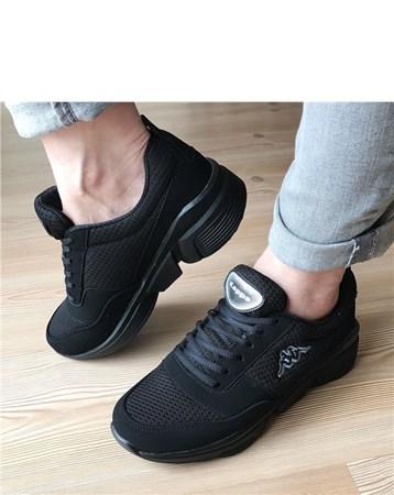 Kadın Günlük Spor Ayakkabı-Siyah-643-789-838-01 680 Kappa