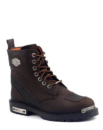 14505-C %100 Deri Motorcu Çizme Erkek Bot Kışlık Ayakkabı 6679 Jump