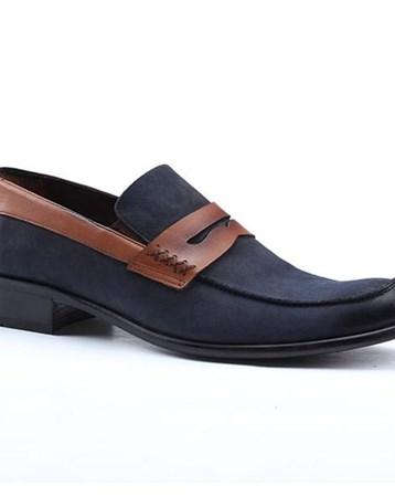 1076 %100 Deri Süet Günlük Klasik Erkek Ayakkabı 1314 Nevzat Zöhre