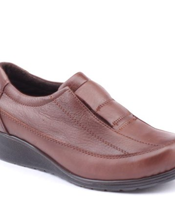 Siber 7504 %100 Deri Günlük Ortopedik Bayan Ayakkabı 6287